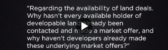 Is there land available for development?