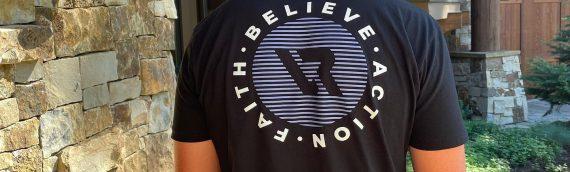 Believe. Action. Faith = Peace.