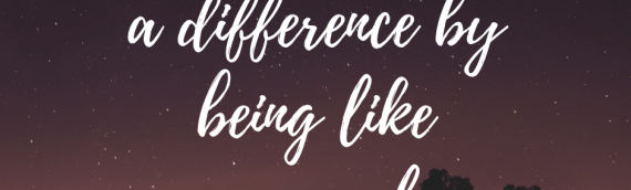 No One Ever Made A Difference…..