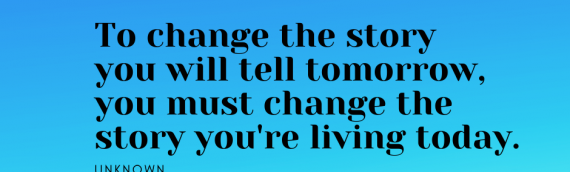 To Change The Story…….